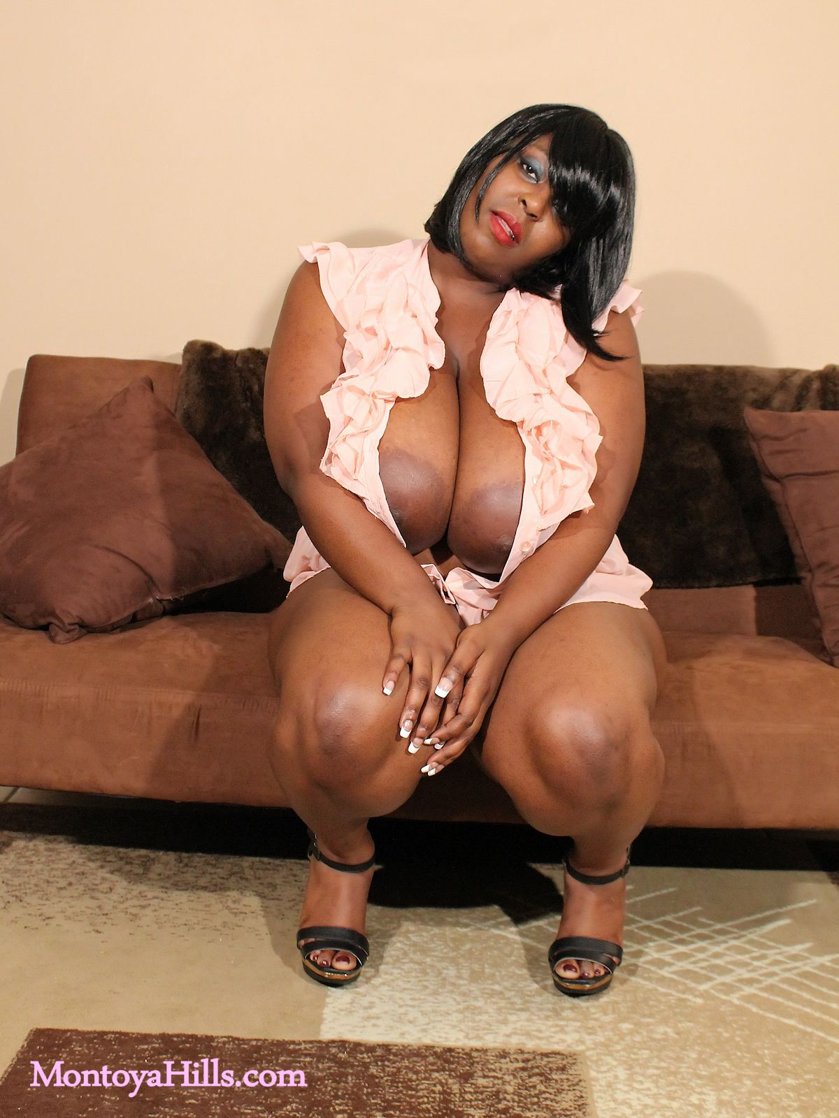 Big black on milf